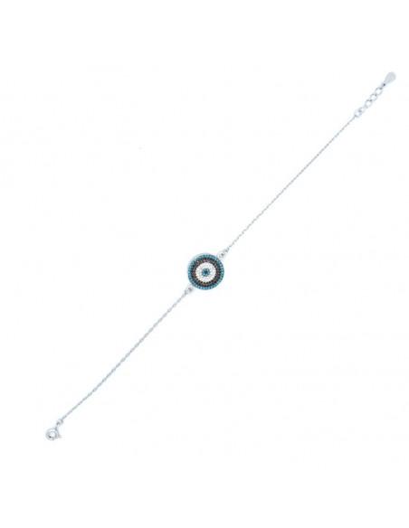 Nazar Armband aus Silber 925 SERIV 3
