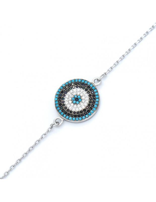 Nazar bracelet from silver 925 SERIV