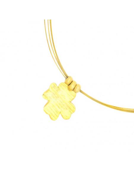 Κολιέ με σταυρός χρυσό TYXERO