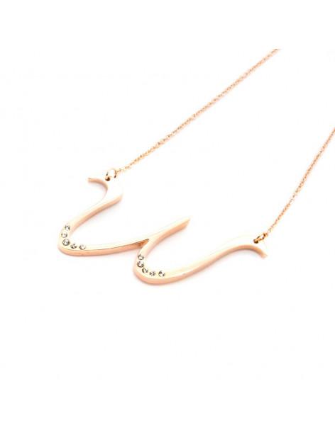 Necklace rose gold WAVE