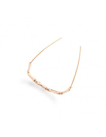 Halskette rosé gold vergoldet CORD 2