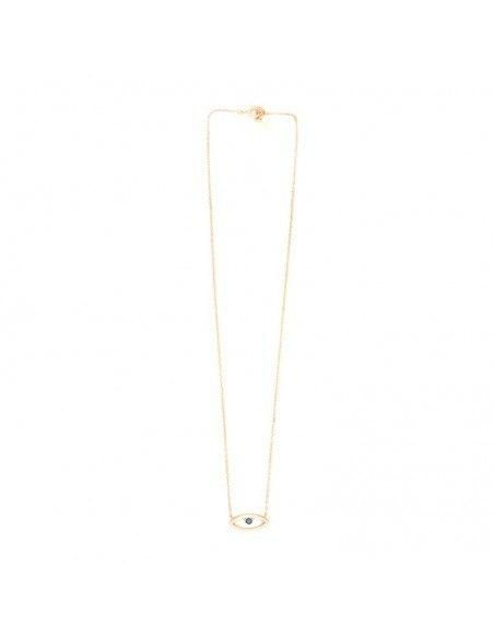 Halskette mit Nazar Silber 925 rose gold NAXOS 3