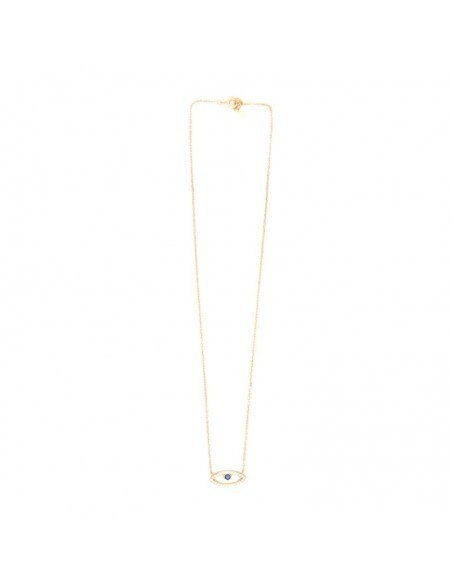 Necklace with nazar silver 925 rose gold NAXOS 3