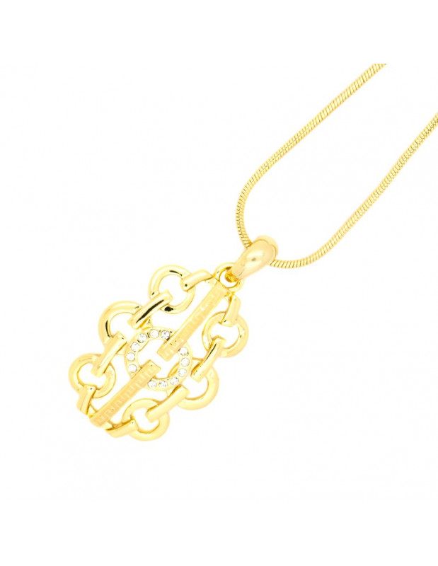 Necklace gold plated OLEE