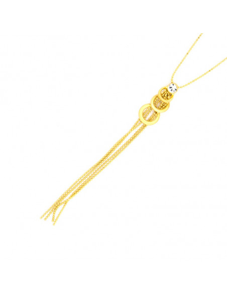 Necklace gold plated TIE