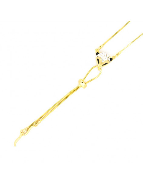 Necklace gold plated RACO