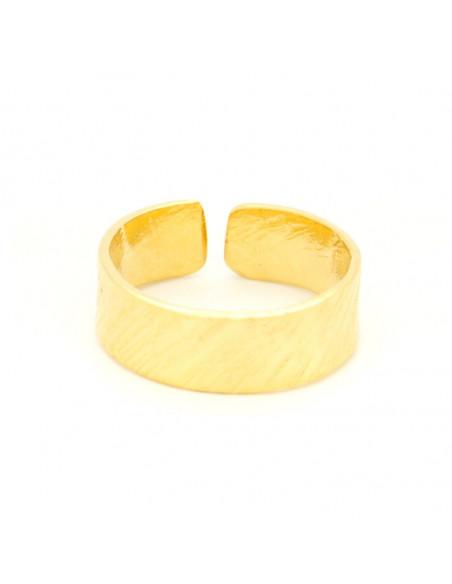 Δαχτυλίδι από μπρούτζο χειροποίητα χρυσό ERIS 3