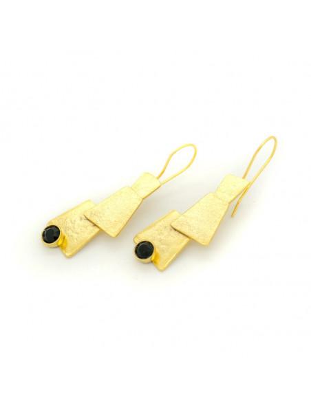 Ohrringe aus Bronze gold LUCCA