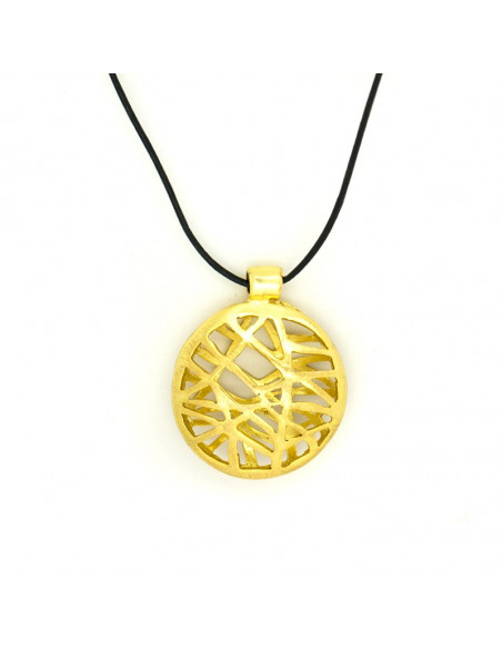 Long Bronze Necklace gold ALLY