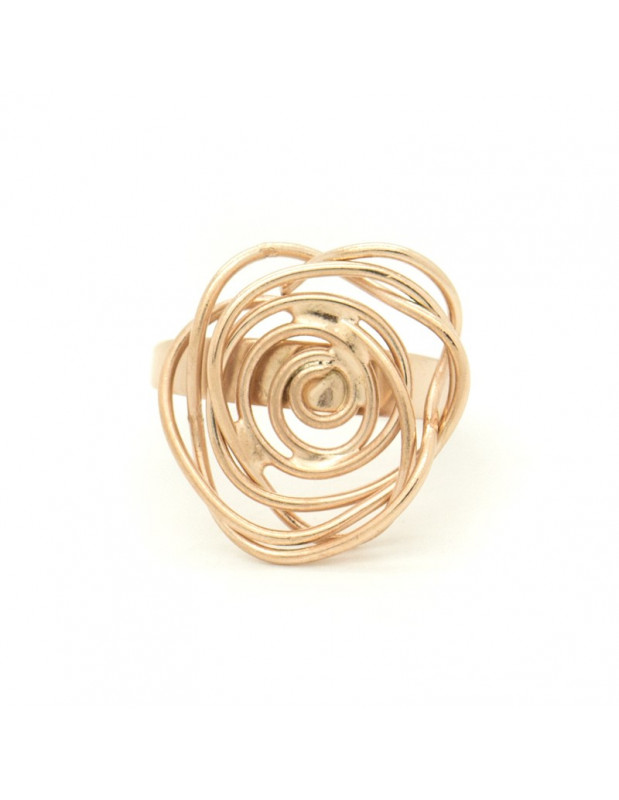Ring handmade rose gold TAFE