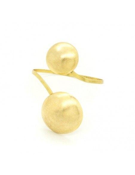 Armreif aus vergoldeter Bronze POINT A20140459