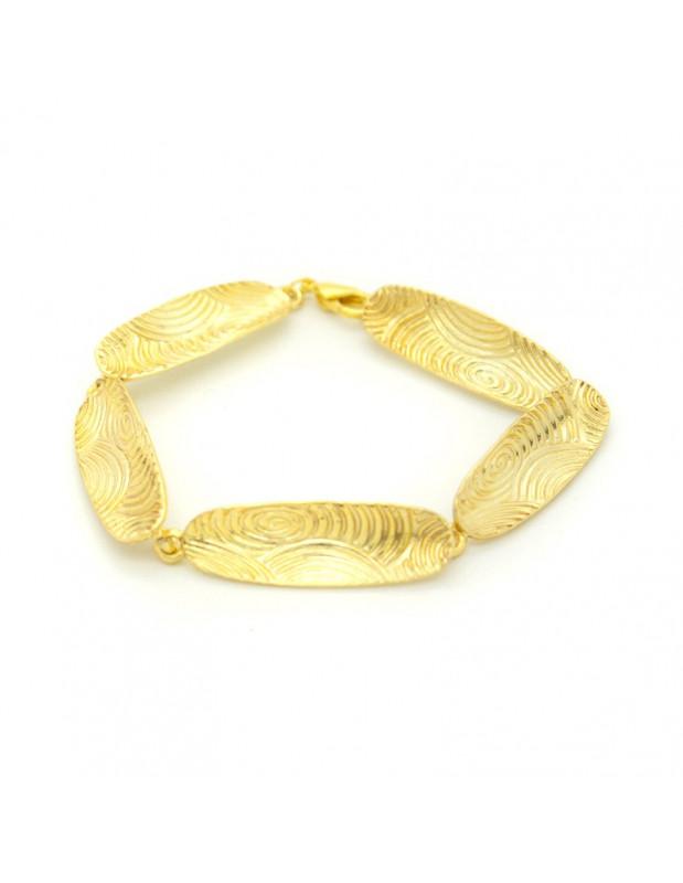 Grecian Designer bracelet gold HERB