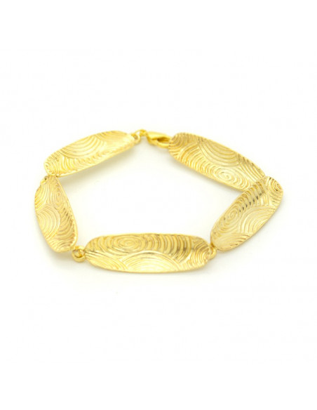 Βραχιόλι αρχαιοελληνικό χρυσό HERB