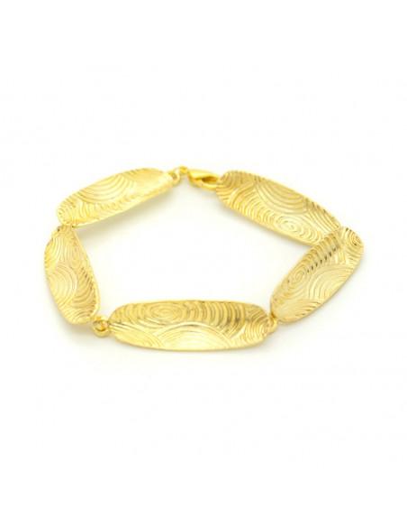 Griechisches Designer Armband gold HERB