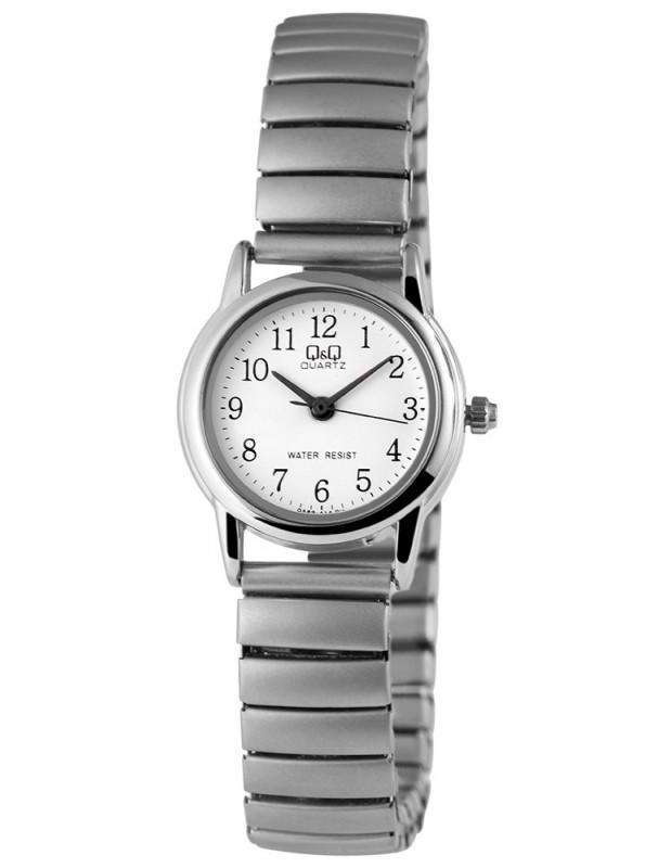 Q&Q Women's watch with silver tieback bracelet OPALA D20140323