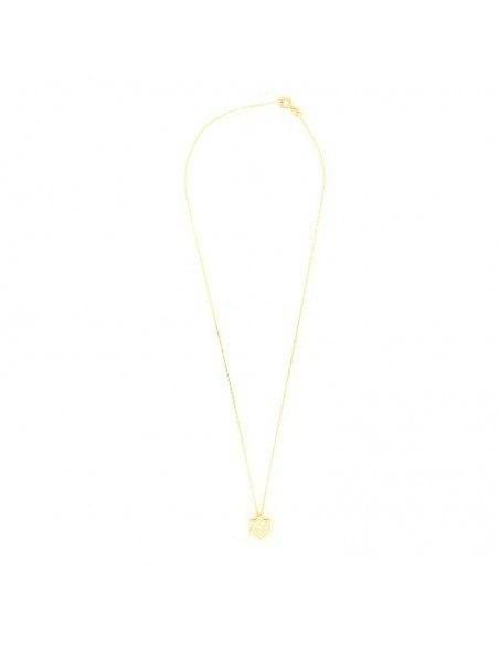 Silberkette Stern mit Zirkonen gold RELLI 2
