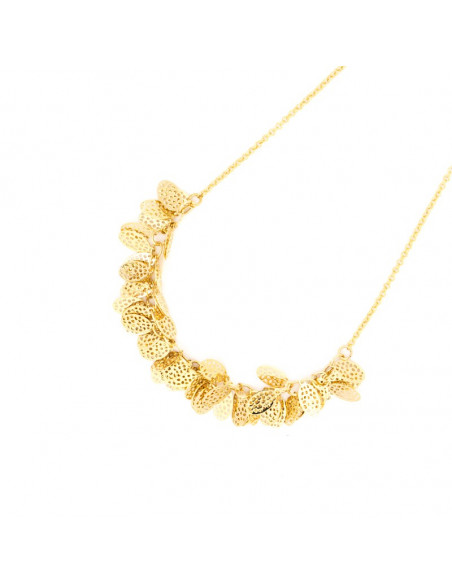 Necklace gold plated DASO