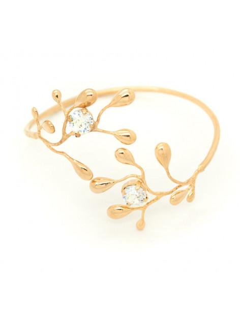 Greek Designer bangle bracelet rose gold REDO