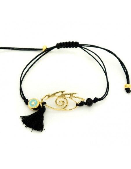 Cord bracelet with Nazar pendant IOPS