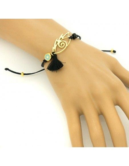 Cord bracelet with Nazar pendant IOPS 2