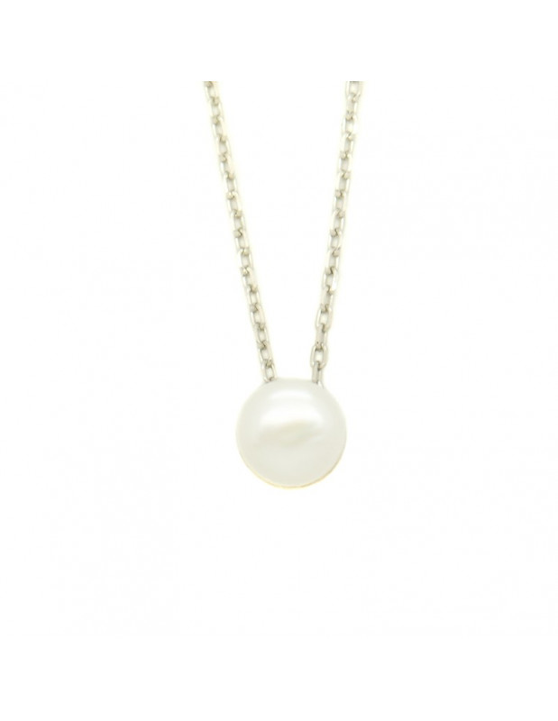 Pearl Necklace of 925 silver FRANOI