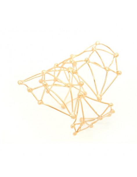 Βραχιόλι αρχαιοελληνικό ροζ χρυσό GABY