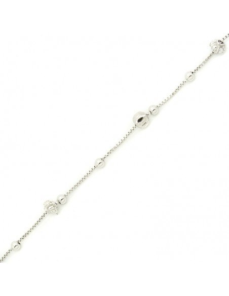 Bracelet of sterling silver GLOBE