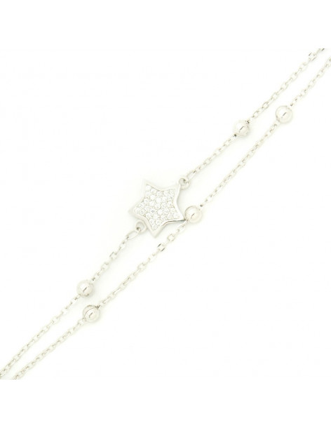 Armband aus 925 Silber STAR
