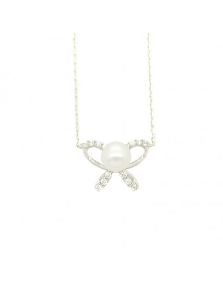 Halskette aus Silber mit ZIG Anhänger H20140833