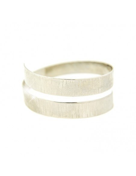 Bangle bracelet from silver plated bronze LITTLE ANUKET A20140856