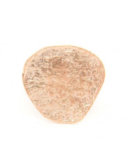 Δαχτυλίδι από μπρούτζο χειροποίητο ροζ χρυσό ARD