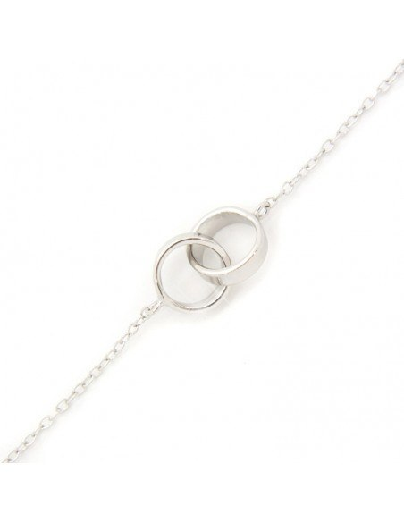 "Armband ""RINGE"" aus echtem Silber 925 A20140803"