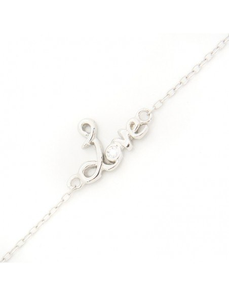 Silver bracelet LOVE A20140819