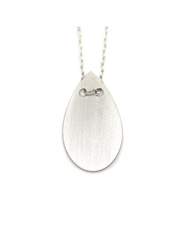 Halskette aus 925 Silber minimal OREY