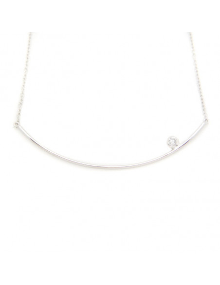 Necklace of sterling silver TROFE