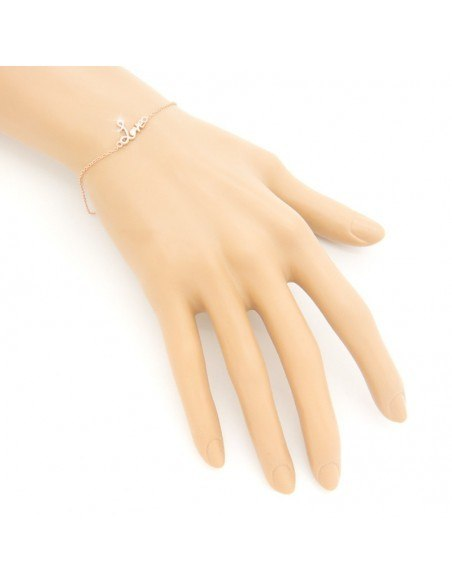 "Silver bracelet ""LOVE"" A20140819"