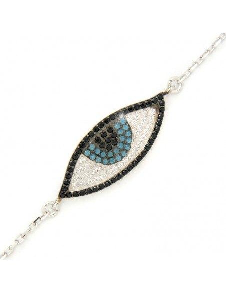 Nazar Armband aus Silber 925 BIROL