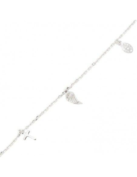 Armband aus 925 Silber WING