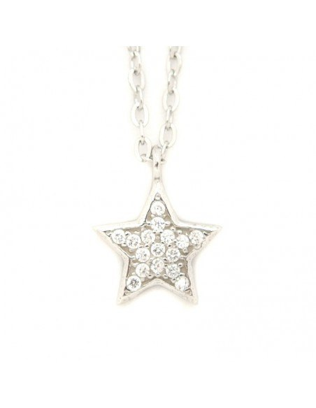 Silver Necklace STAR