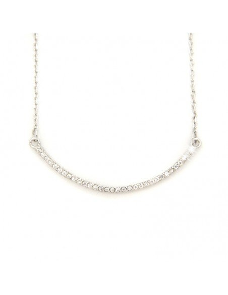 """Necklace sterling silver """"SEMICIRCLE"""" H20140980"""