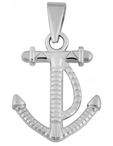 Men's cross pendant from stainless steel ILAY P20140061
