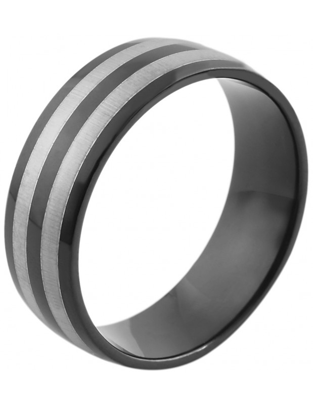 Men's ring from stainless steel CLAS R20140718