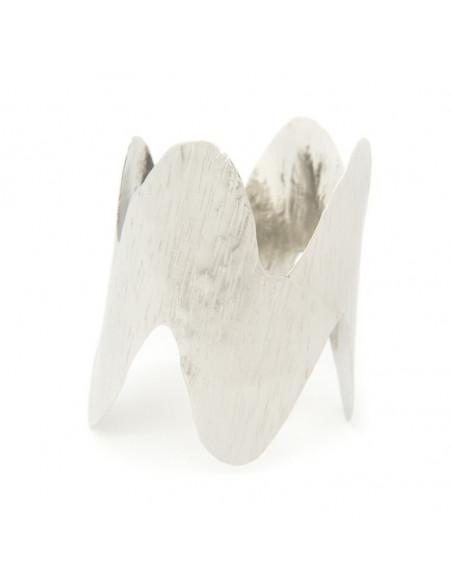 Αρχαιοελληνικό βραχιόλι από επάργυρο μπρούτζο SPARO A20140935