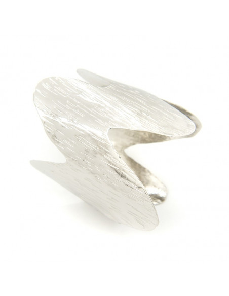 Bangle bracelet from silver plated bronze SPARO A20140935