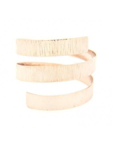 Greek designer bangle bracelet rose gold ANUKET 3
