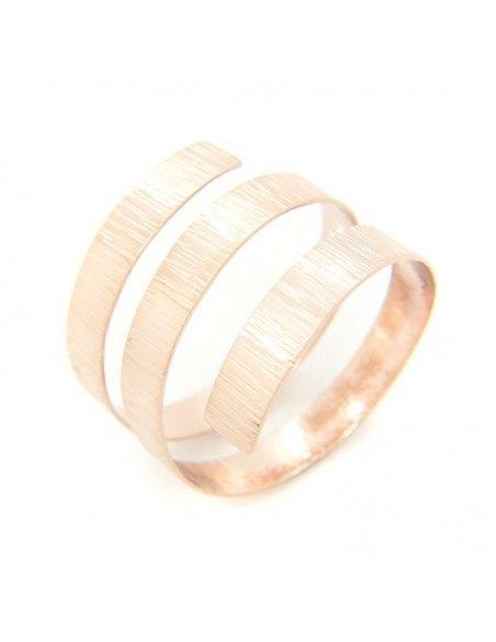 Greek designer bangle bracelet rose gold ANUKET