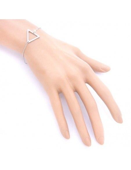 Minimal Armband silber TRI 2