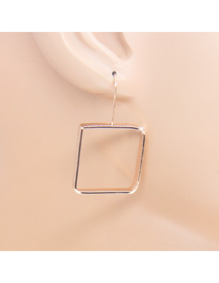 Earrings from rose gold plated bronze DO O20140946