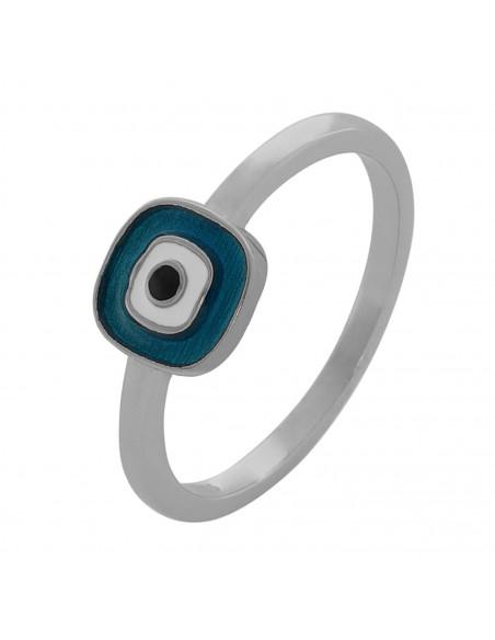 Δαχτυλίδι ματάκι από ασήμι 925 ΜΑΤΙL
