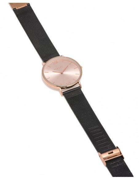 LOFTY'S Mercury Y2013-1 ροζ χρυσό με μπρασελέ ατσάλι